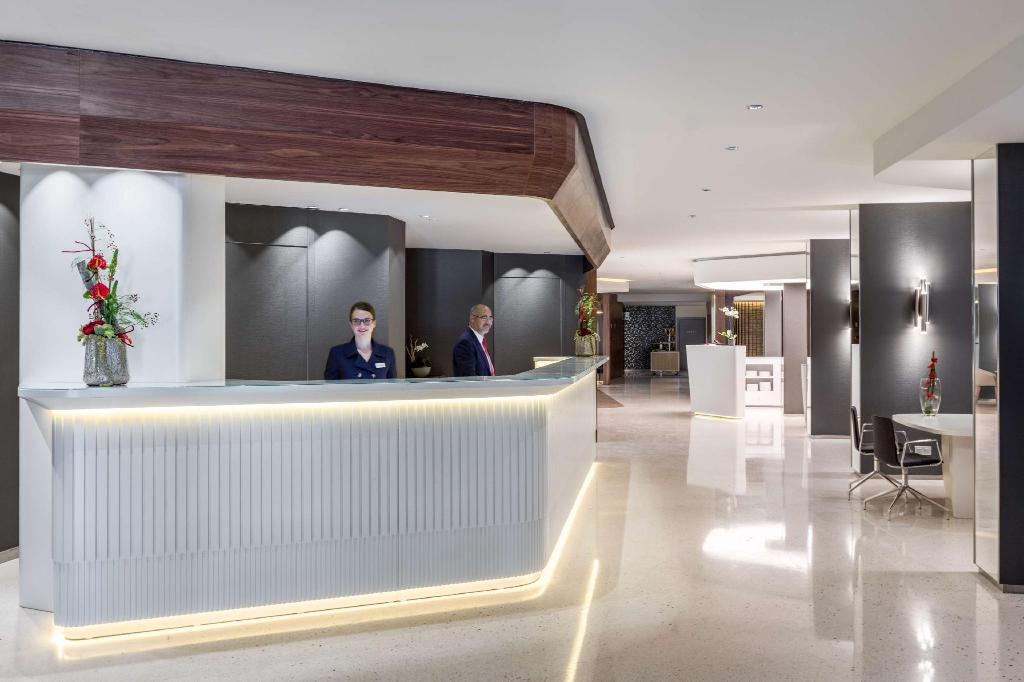 Lobby NH Collection Brussels Grand Sablon