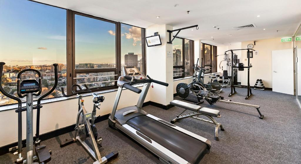 Fitness center The Sydney Boulevard Hotel