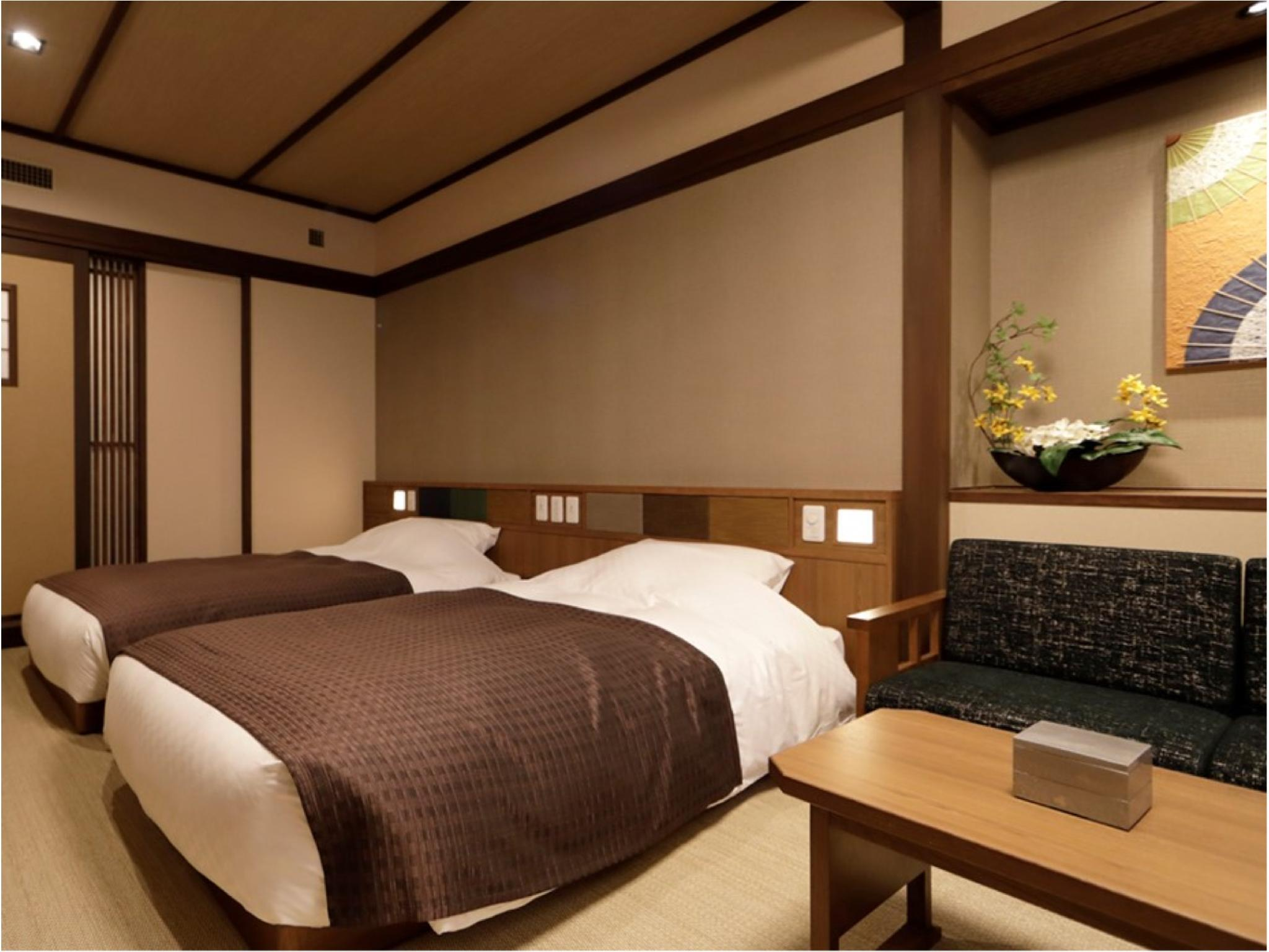 Japanese-style Twin Room with 2 Japanese Beds (Shikishima Wing) *Has bath