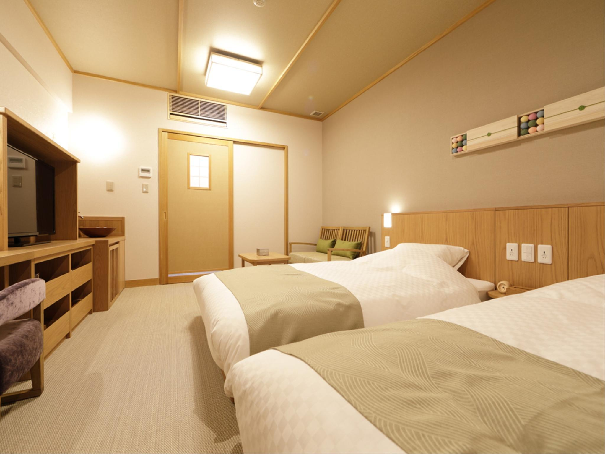 Japanese-style Twin Room (2 Beds, Main Building)