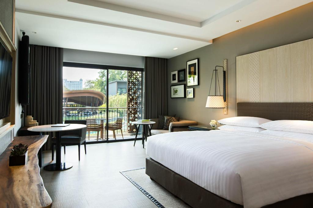 Superior, Guest room, 1 King or 2 Double, Resort view - Istaba viesiem Hua Hin Marriott Resort & Spa