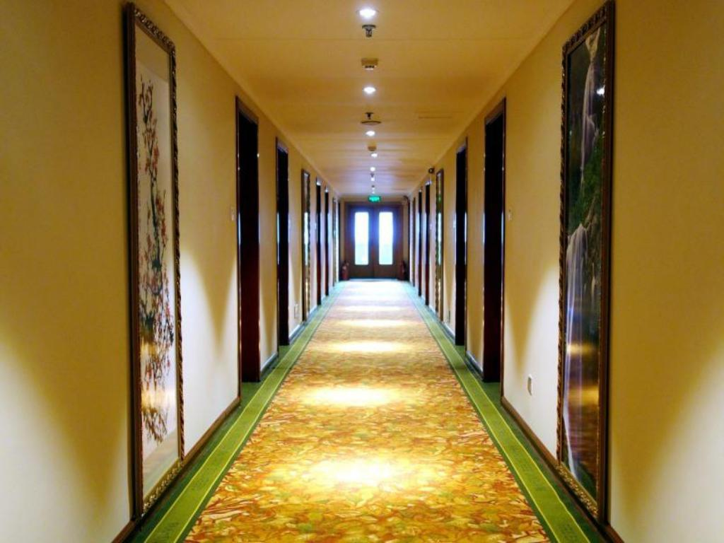 Hotellet indefra GreenTree Aliiance Shandong Province Weifang Zhucheng Heping Street Huayang Hotel