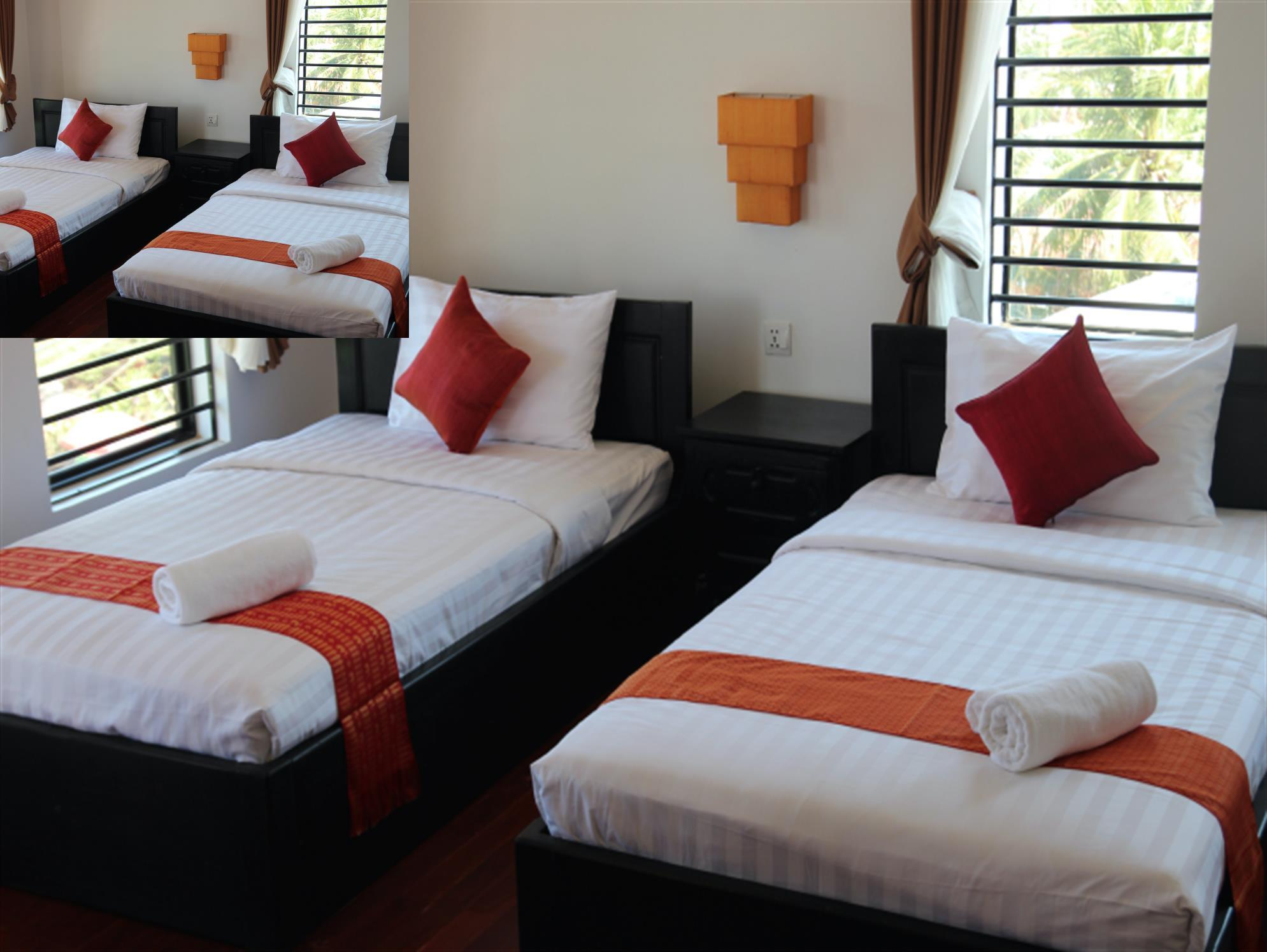 Deluxe Twin Room with Balcony - City View