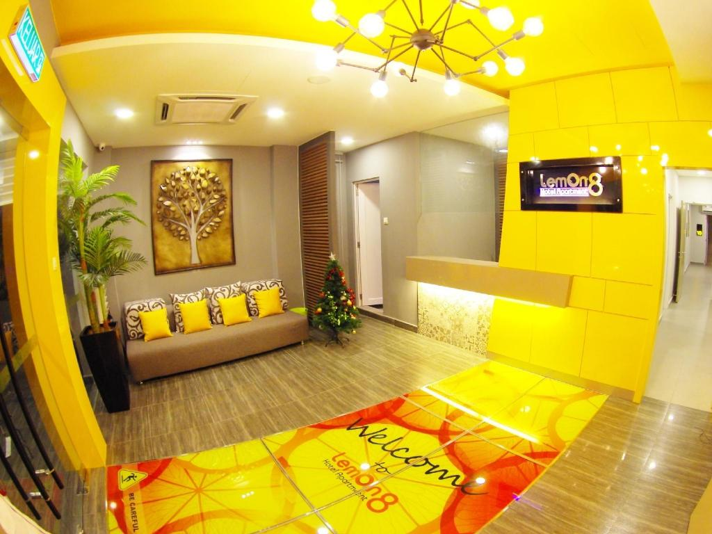 Lobby Lemon 8 Boutique Hotel @ Malacca