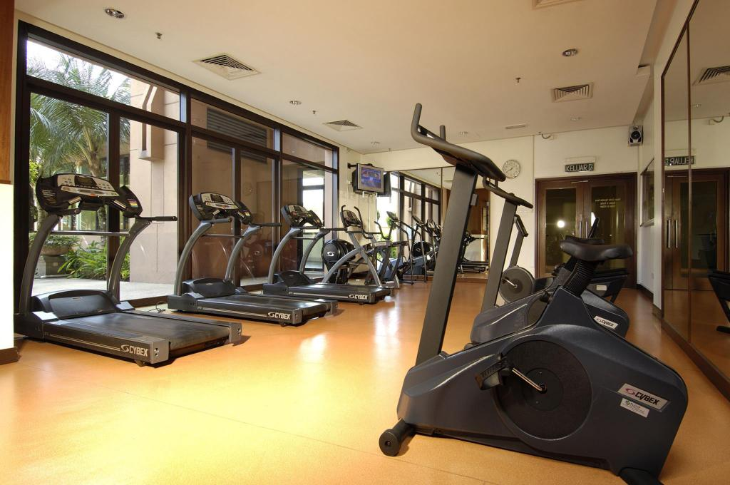 Fitness center Fantastic Apartment at Times Square