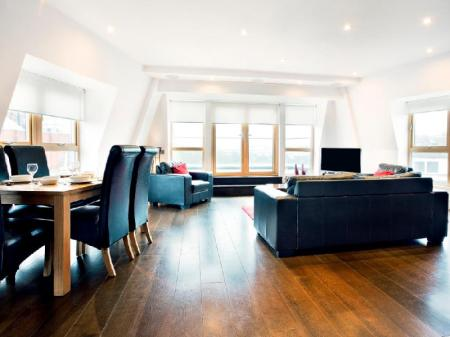Interior view Clerkenwell One Apartments