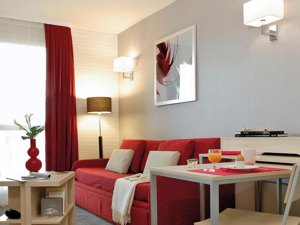 עיצוב הפנים Adagio Paris Montrouge Aparthotel