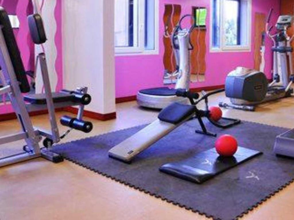 Centre de fitnes Quality Suites Bordeaux Aeroport and Spa