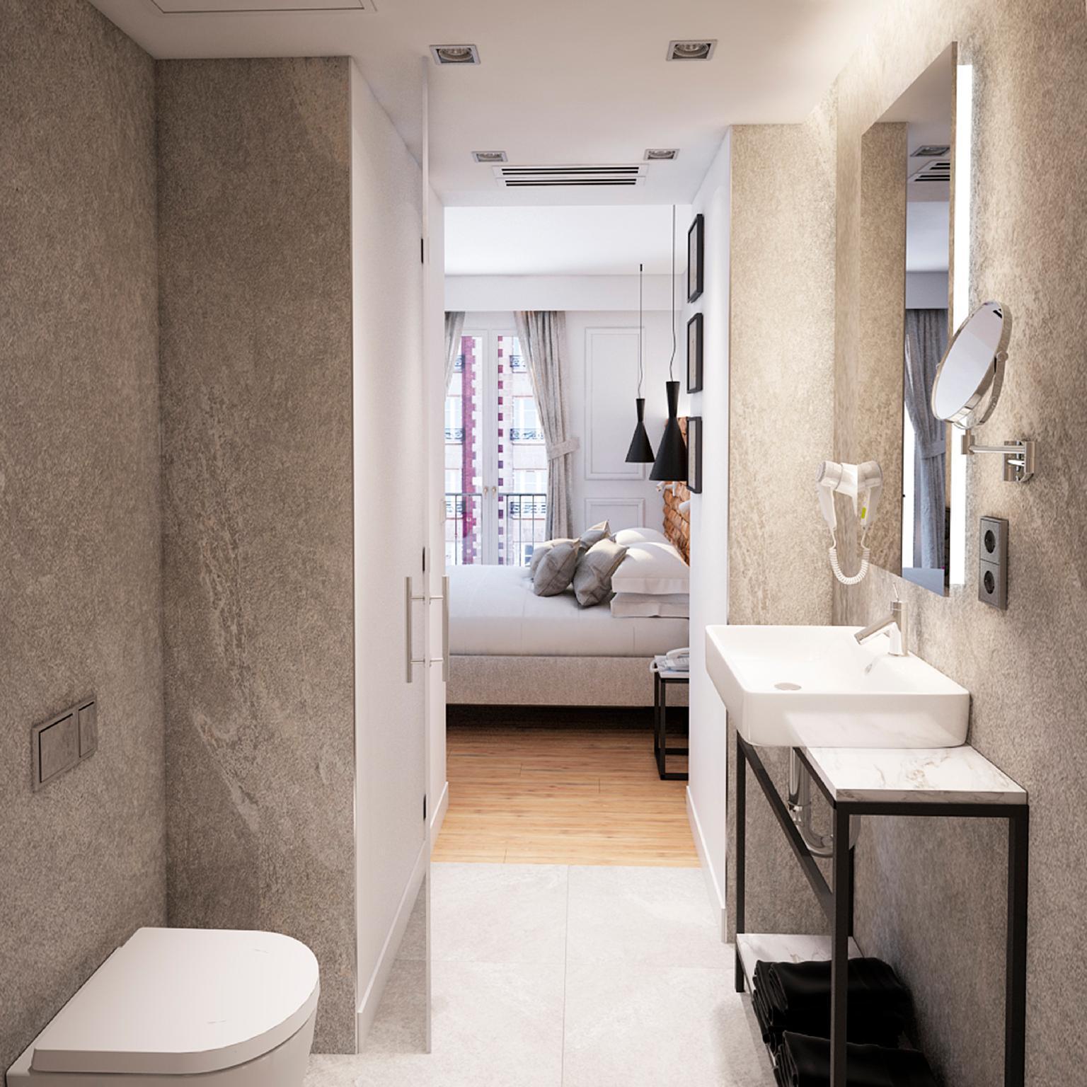 Cintres Duo Square Bath