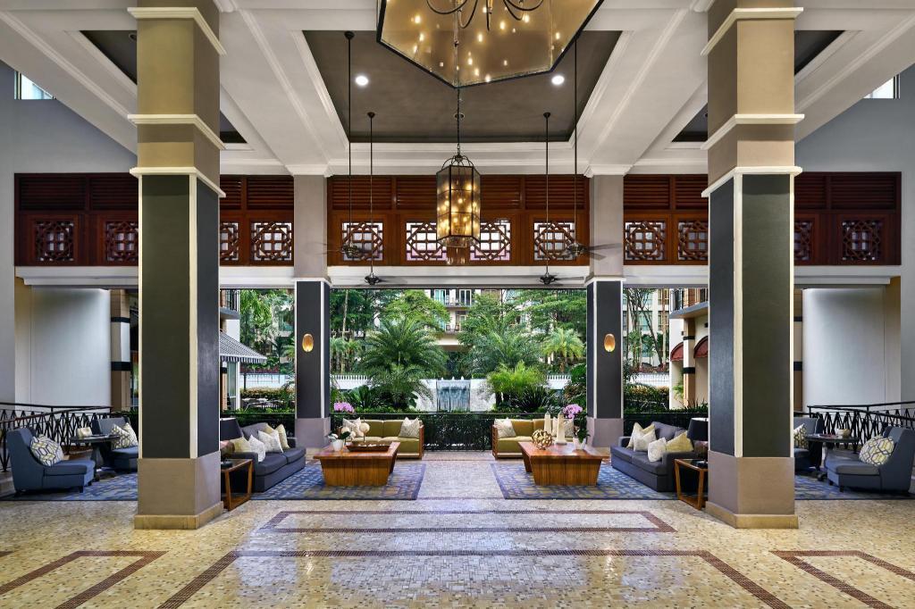 Lobby Treetops Executive Residences