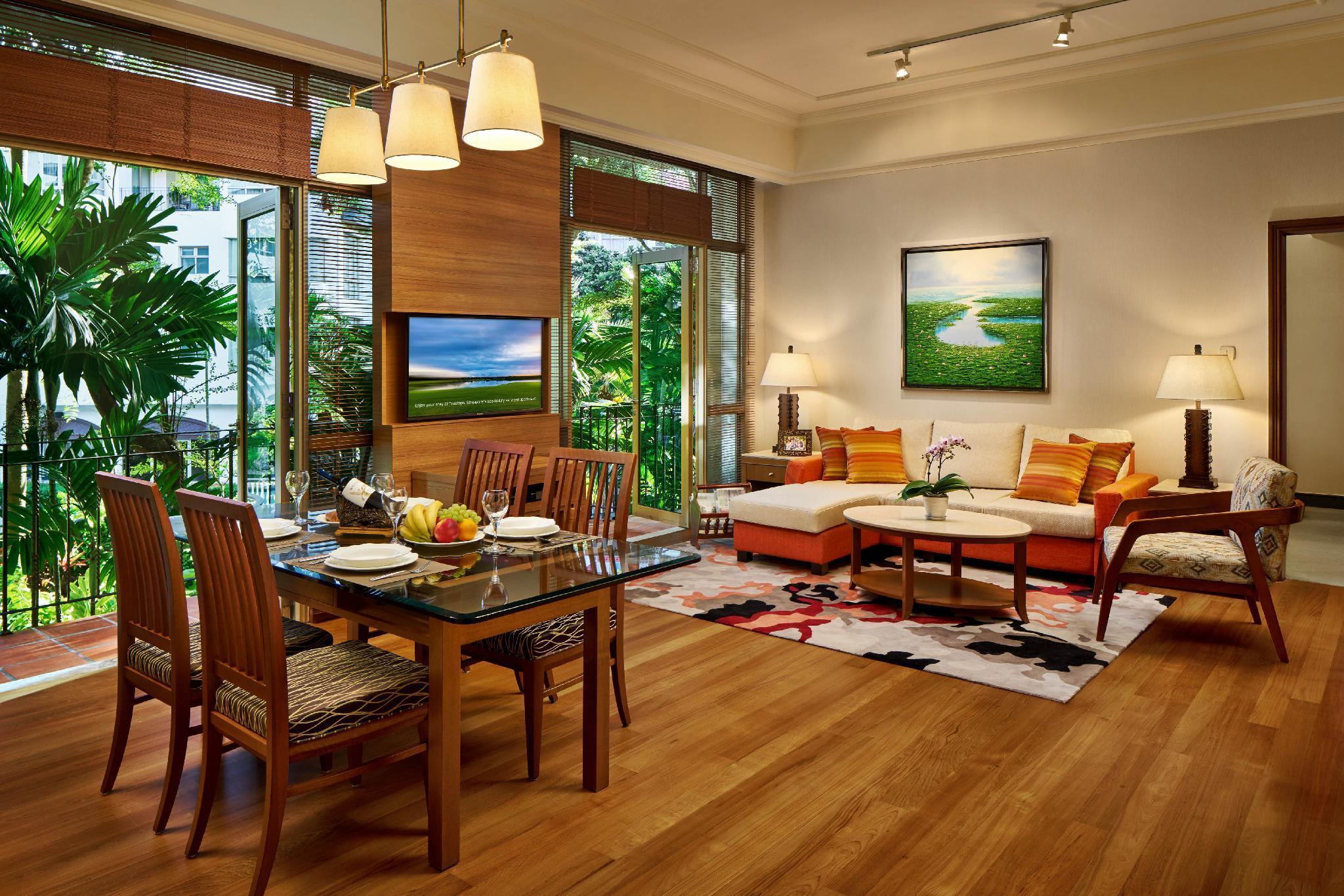 Treetops executive residences in singapore room deals - 2 bedroom hotel suites singapore ...