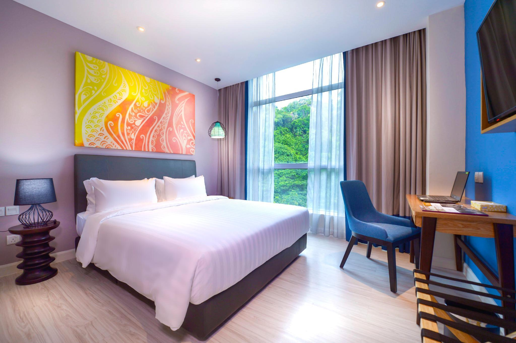 Slaapkamer En Suite : Mercure kota kinabalu city centre kota kinabalu boek een