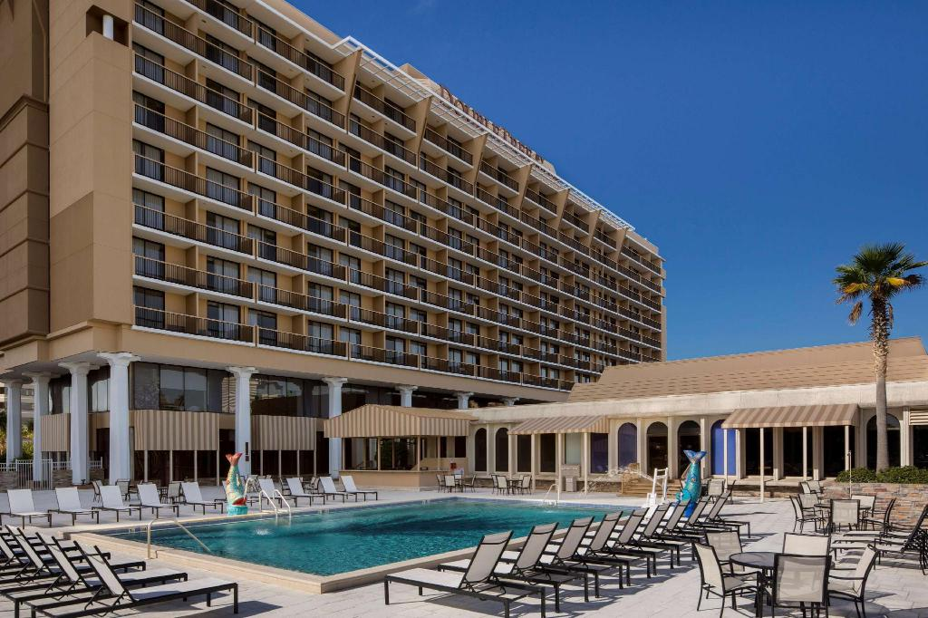 Peldbaseins [āra] Double Tree by Hilton Hotel Jacksonville Riverfront