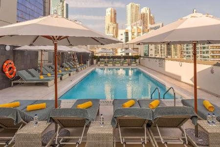 Swimming pool [outdoor] Wyndham Dubai Marina