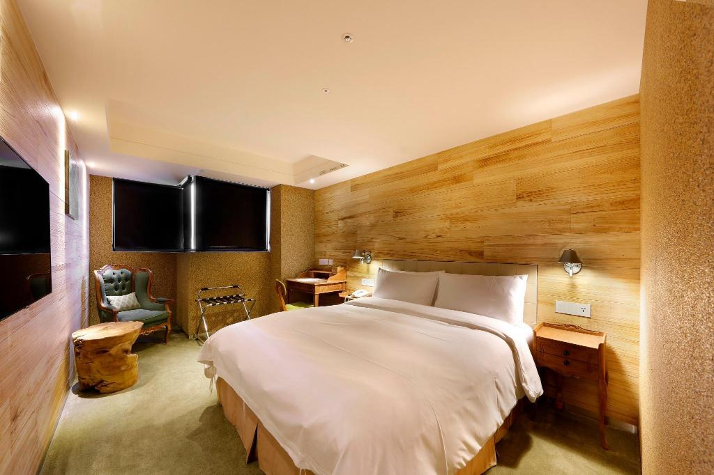 Standard Double Room - Room plan Inhouse Hotel Taichung