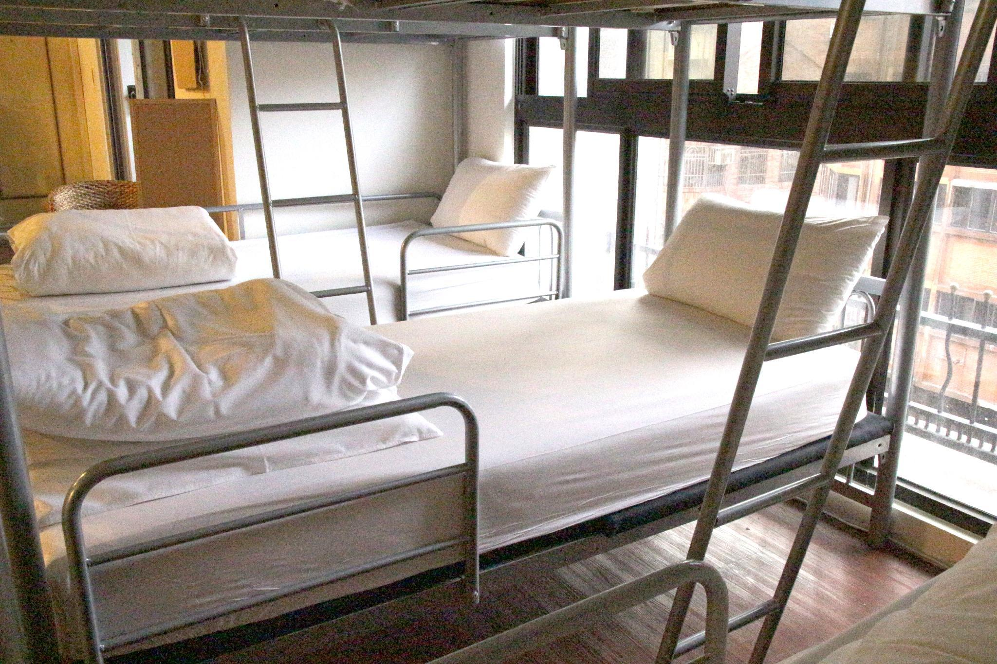 Single Bed Male Dormitory (Shared Bathroom)