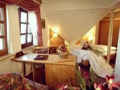 Double Room Attic with Panoramic View 3rd Floor