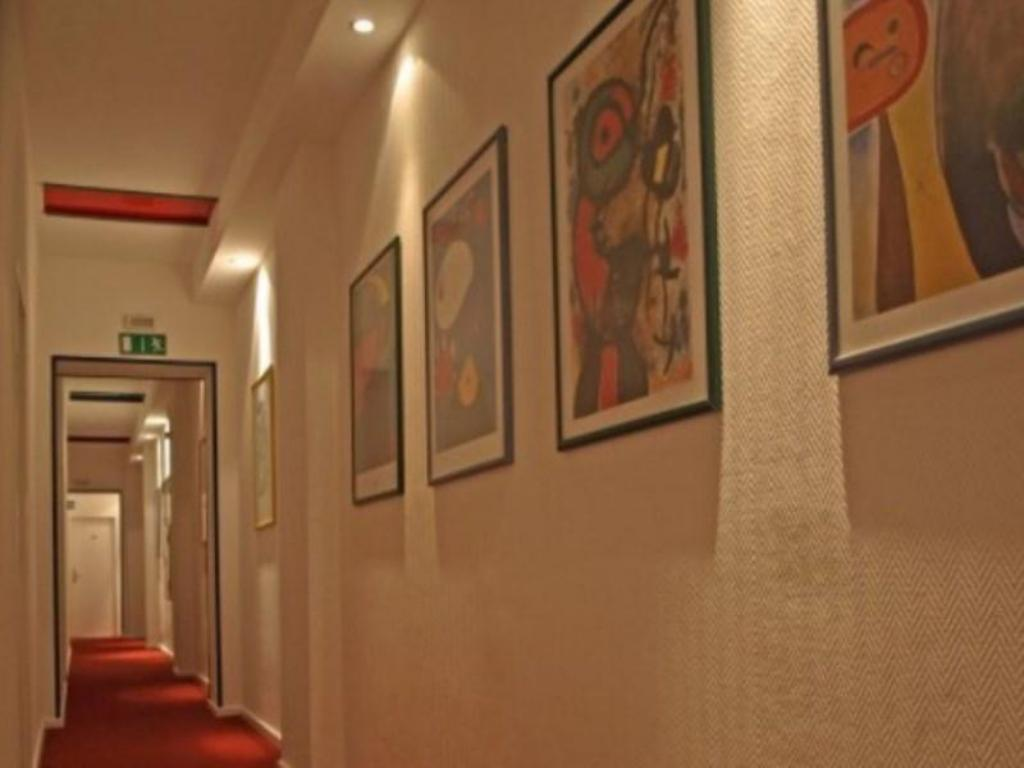 Hotellet indefra Art Hotel Charlottenburger Hof Berlin
