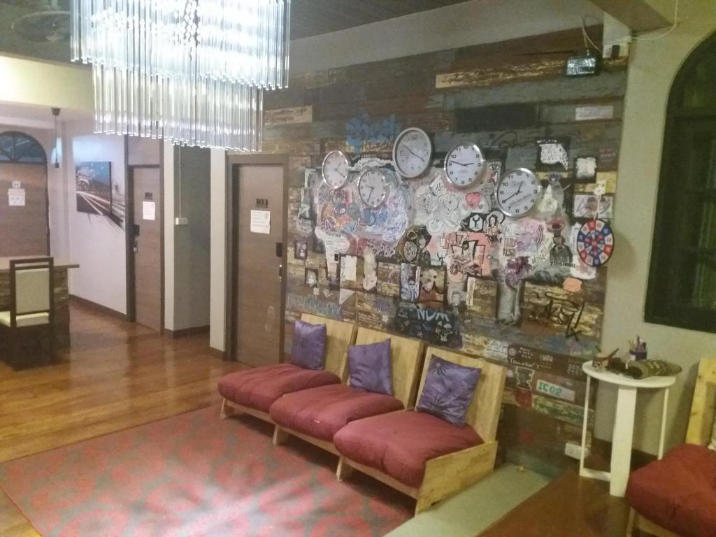 Interior view Yuan Hostel