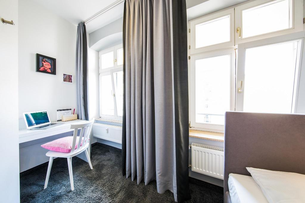 Calma XS Single Room - Facilities CALMA Berlin Mitte Hotel