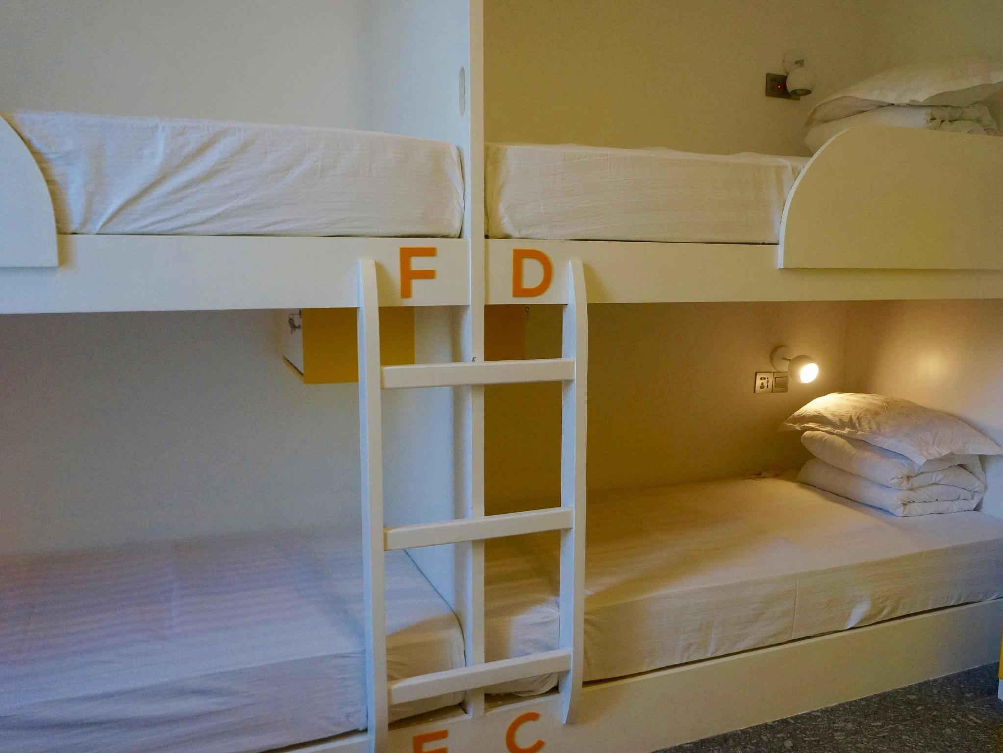 1 Bed in 8 Bed Dormitory