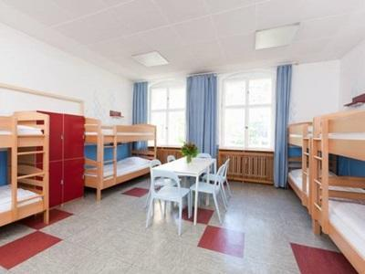 1 Person in 8-Bed Dormitory with Private Bathroom - Mixed
