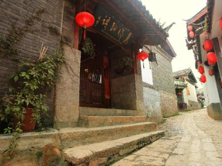 Είσοδος Lijiang Dawn Song Small Luxury Hotel