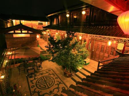 Εσωτερική άποψη Lijiang Dawn Song Small Luxury Hotel