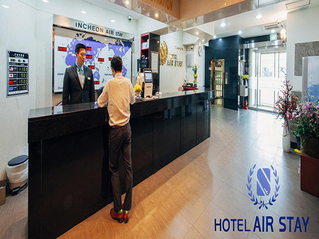 Lobby Incheon Airport Hotel Airstay