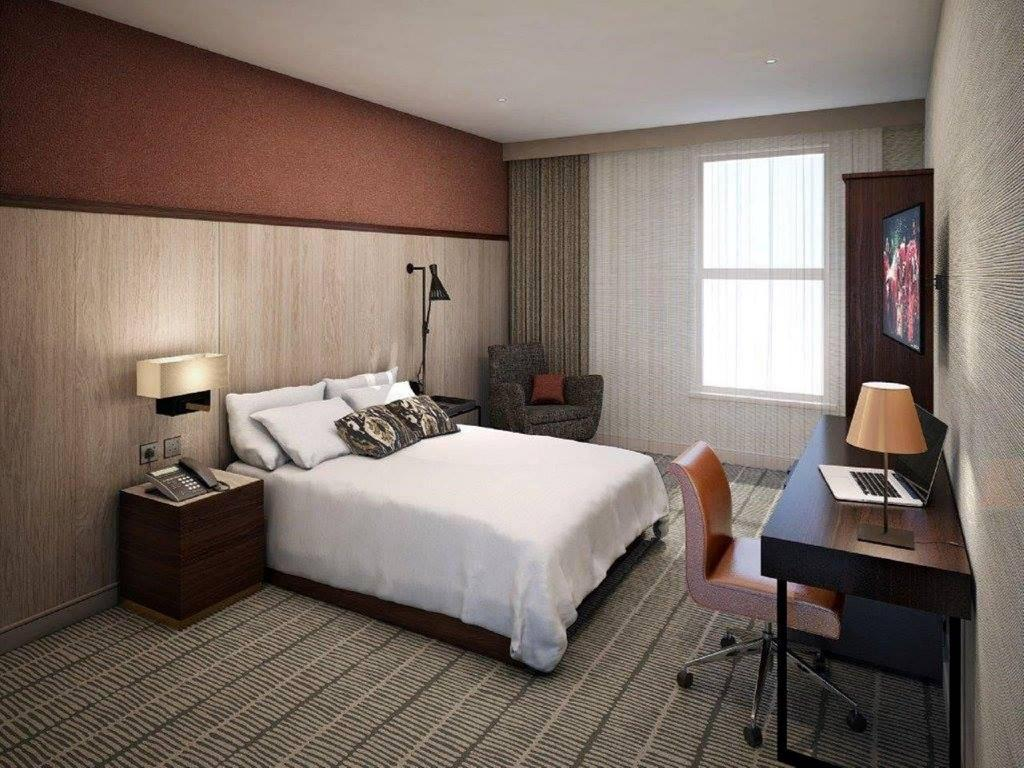 Queen Accessible Guest Room - Cameră de oaspeți DoubleTree by Hilton Hotel London ExCel