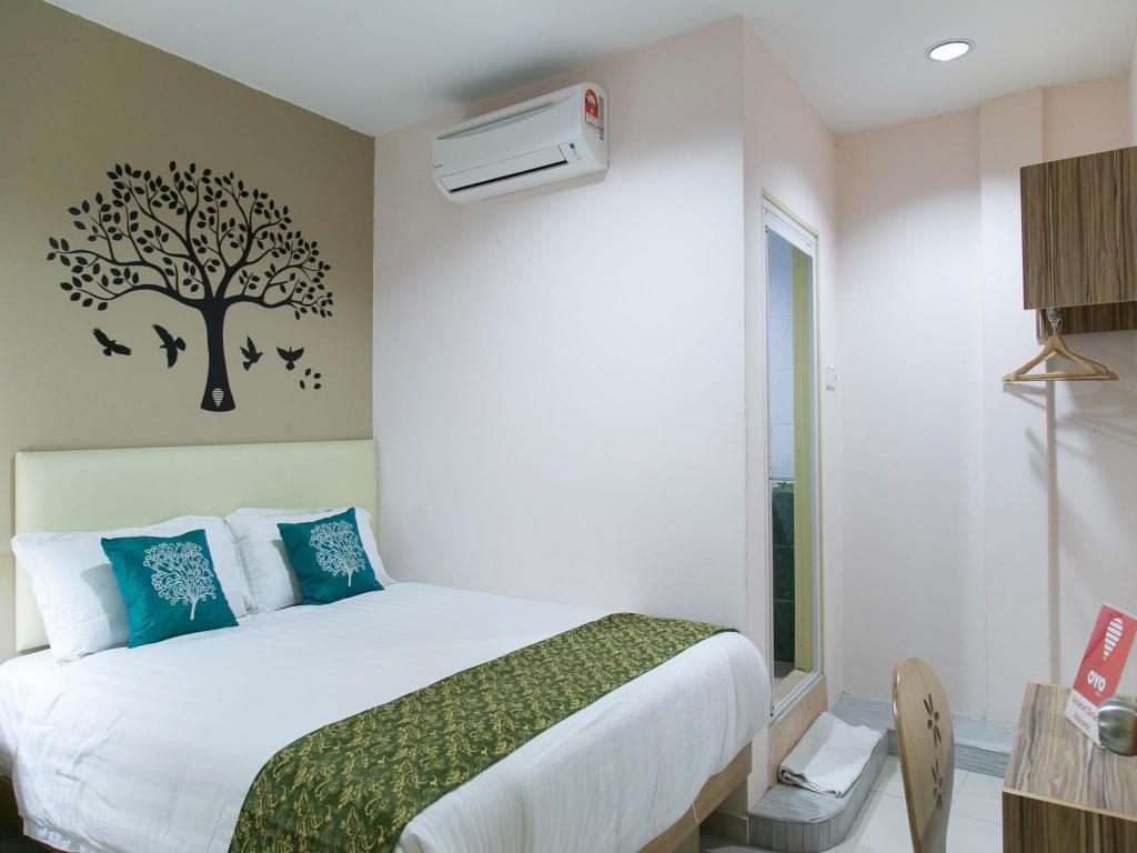 Double or Twin Room with Private Bathroom - Room plan OYO 102 Sindbad Hotel