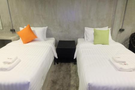Standard - (2 Single Beds) The Loft @Chiangrai