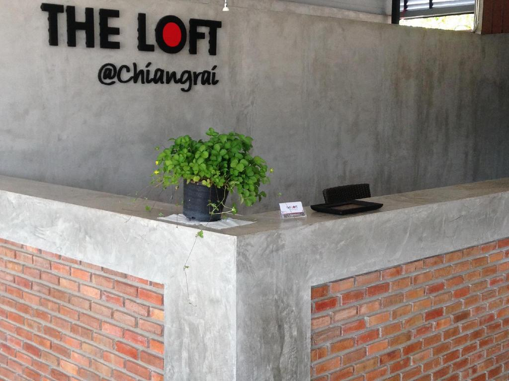Hotellet indefra The Loft @Chiangrai