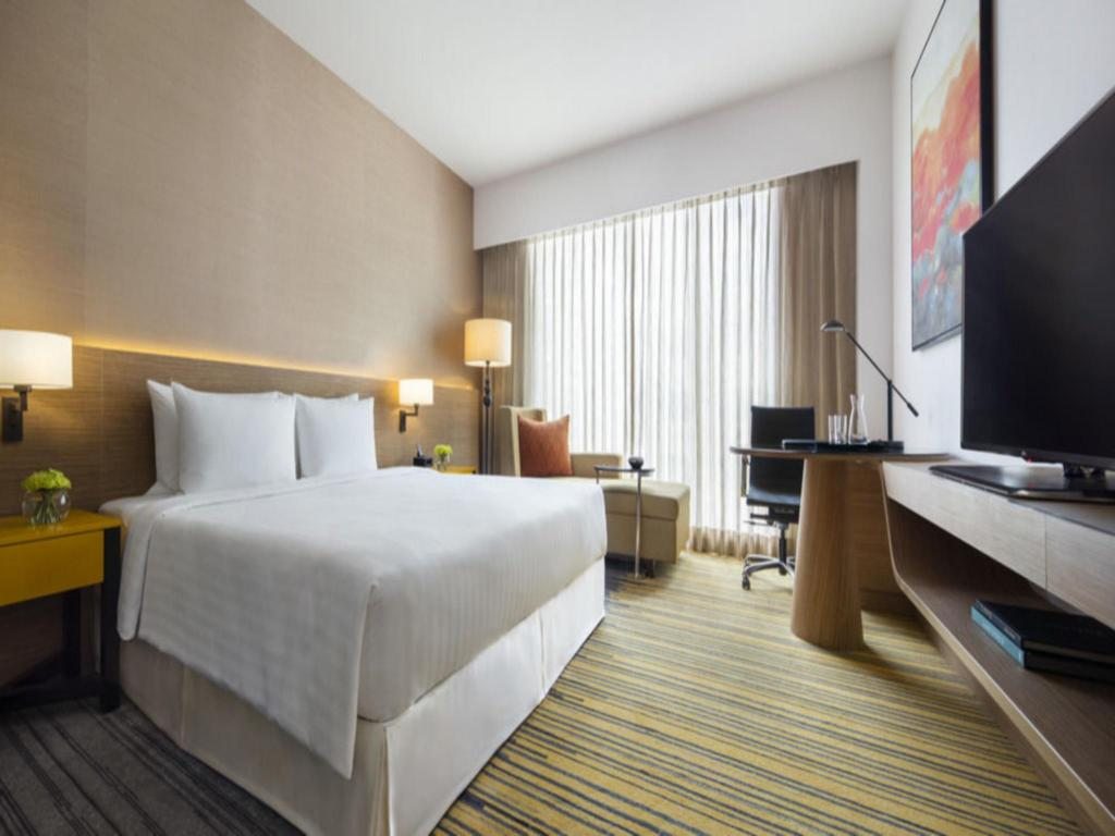 Deluxe room, Guest room, 1 King or 2 Twin/Single Bed(s) - Pokój gościnny Courtyard by Marriott Bengaluru Outer Ring Road