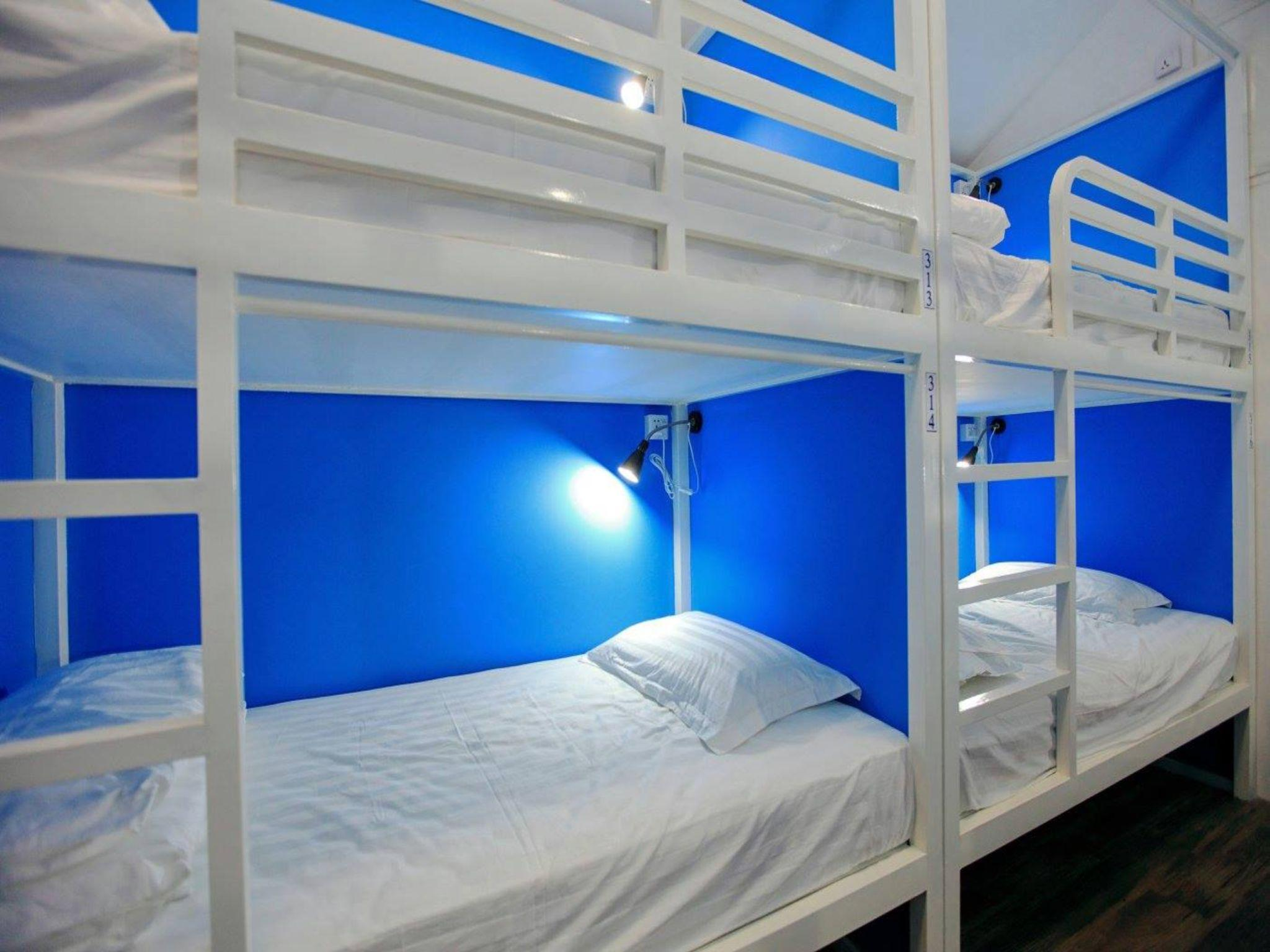 Bunk Bed in Mixed Dormitory Room (Individual Capsules)