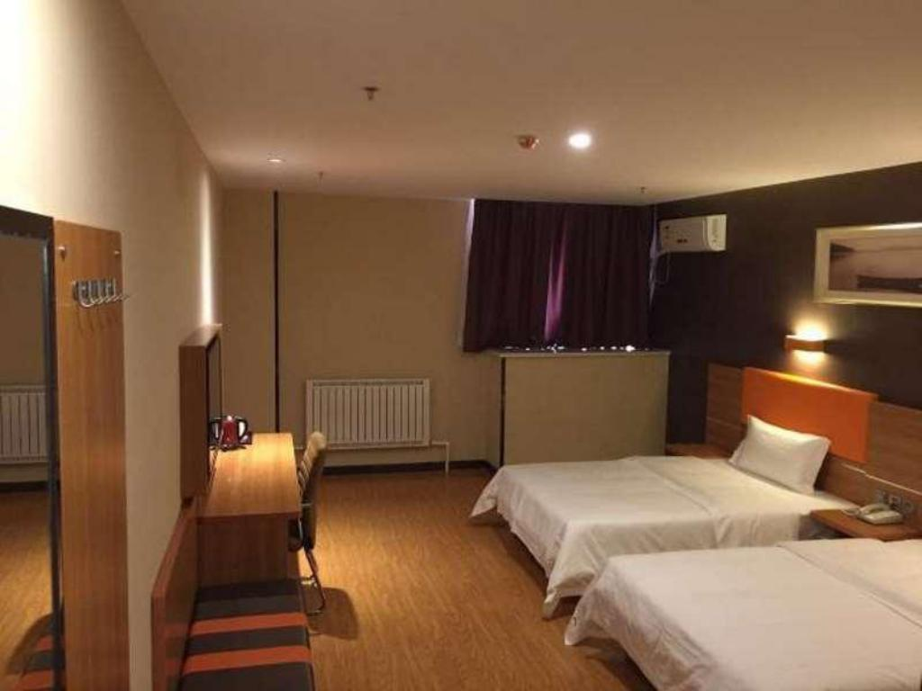 Selected Queen Room - Pokój gościnny 7 Days Premium Linyi Hedong Caiyuan Square Branch