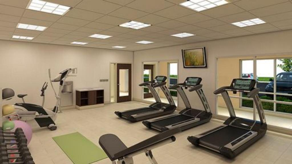 Fitness merkezi Holiday Inn Express & Suites Salem