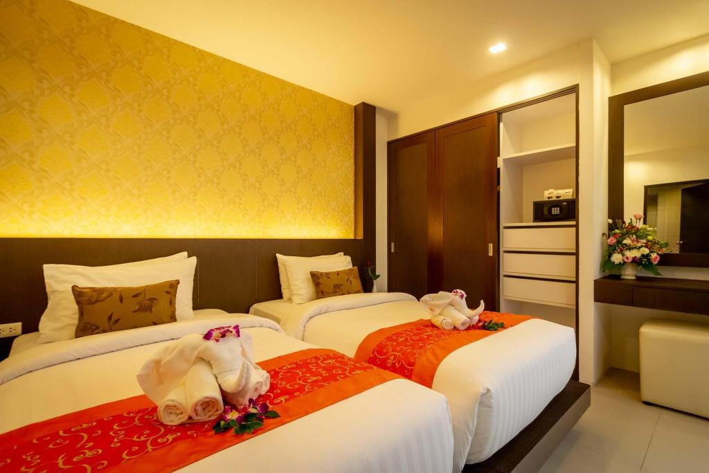 One Bedroom Suite  - Bed Patong Bay Hill Resort