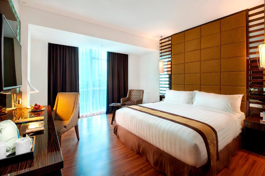 Deluxe King - Camera da letto The Atrium Hotel and Resort Yogyakarta