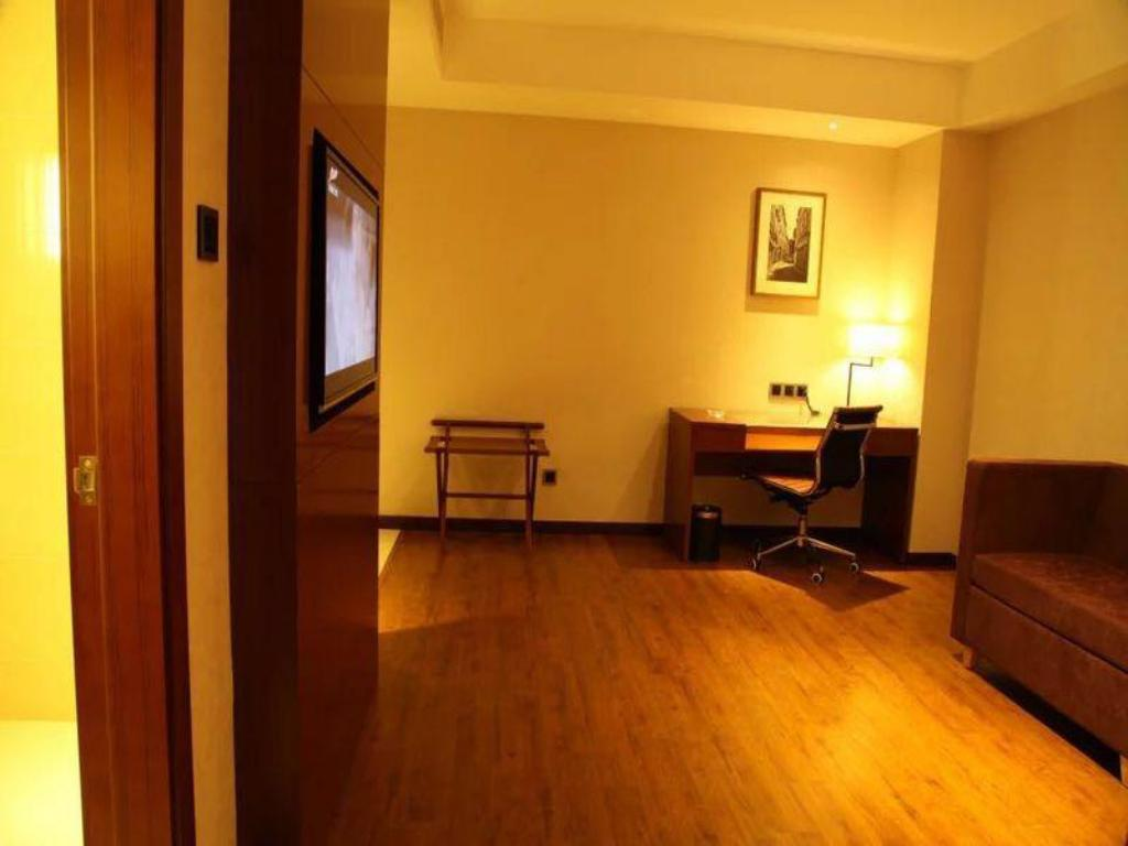 Hotellet indefra Yitel Shanghai Pudong Kangqiao Xiupu Road Branch