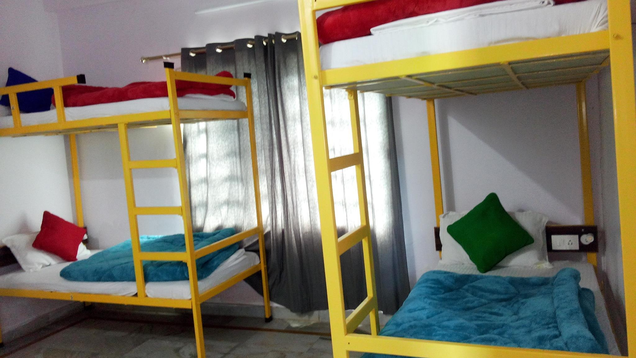 Bunk Bed in 4-Bed Female Dormitory Room with Shower