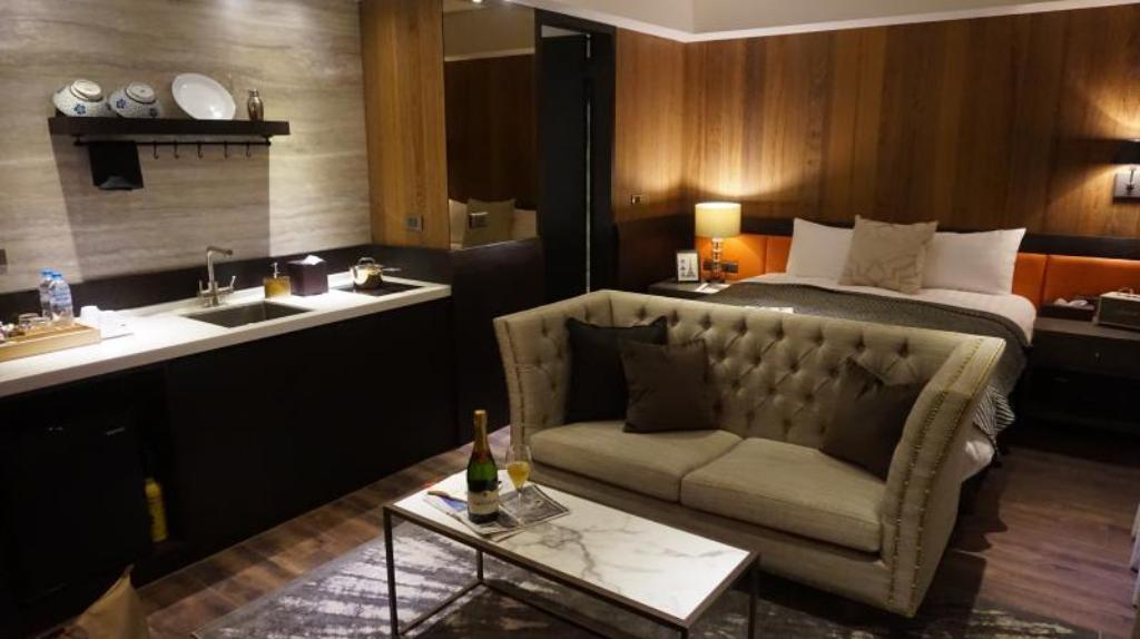 Hotellet indefra Le Charm Suite