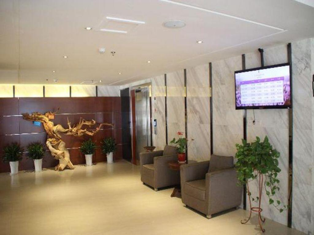 Лобби Lavande Hotel Wuhan Garden Expo Changfeng Avenue Branch