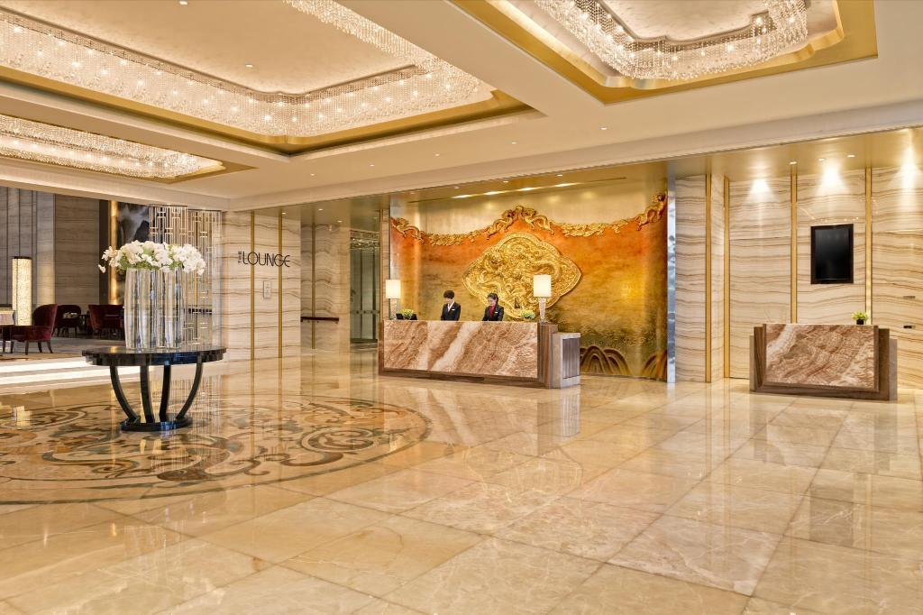 Лобби Yiwu Marriott Hotel