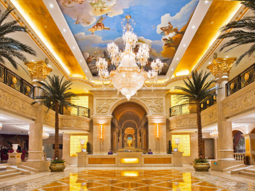 Lobby Harbin New Paris Hotel