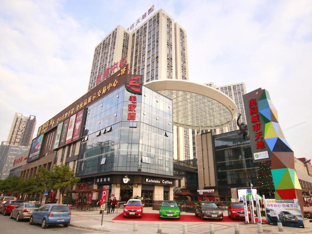 Udvendig Guangzhou Yanxi Apartment Chimelong branch