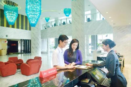 Lobby Lexis Suites Penang
