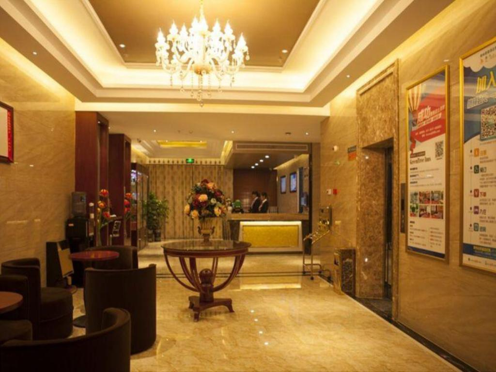 Lobby GreenTree Inn Jiansu Nantong Tongzhouwan Huanghe Road Business Hotel
