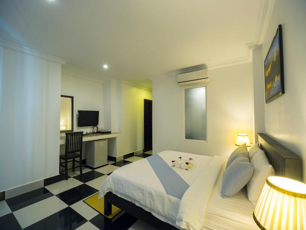 Superior Double Room - Free Two Ways Airport Transfer - Værelse Rithy Rine Angkor Residence