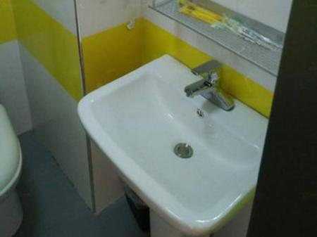 Bathroom 7 Days Inn Beijing Tongzhou Beiguan Subway Station Branch